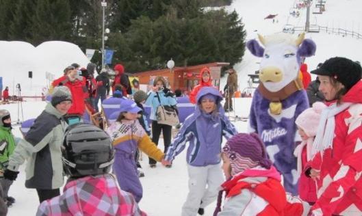 Milka Funpark event Tatry