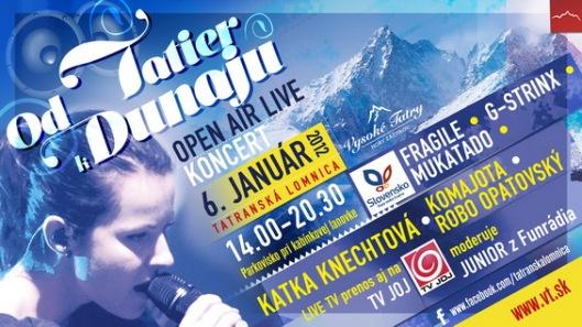 Event Od Tatier k Dunaju - Vysoké Tatry