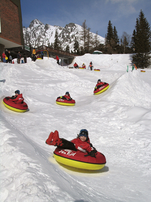 hrebienok, snowtubing, vysoke tatry