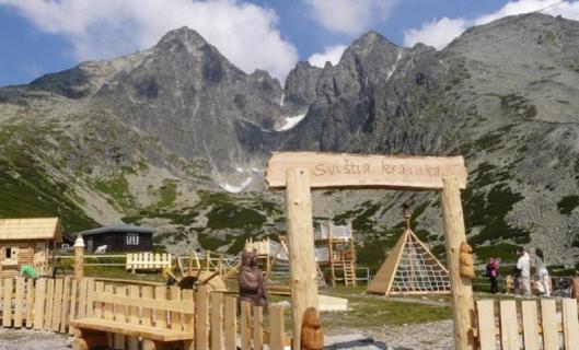 Svištia krajinka, Vysoké Tatry - Skalnaté pleso